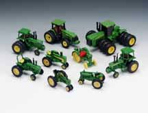JD 10-Piece Historical Tractor Set