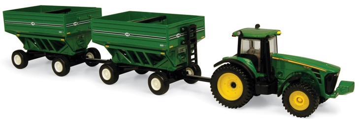 Animated John Deere Tractors And Wagon : Tractor with wagon the