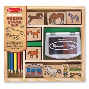 2410-StampSet-Horses-Pkg