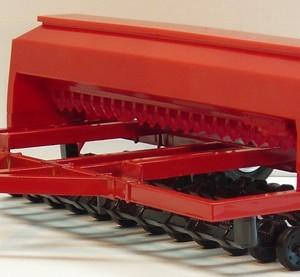 Red Grain Drill