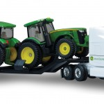 jd semi with 8r series tractors