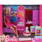 Barbie Dress-up to Make-up