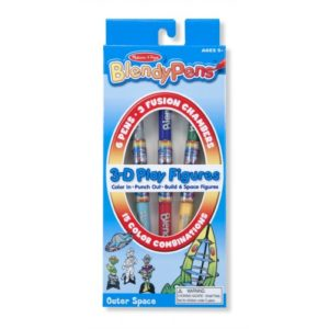 Blendy Pens - 3-D Play Figures Outer Space
