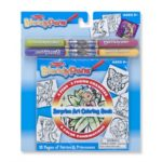 Blendy Pens Surpise Art Coloring Book - Fairies & Princesses