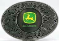 jd wester style logo belt buckle