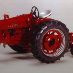 farmall 300 with plow