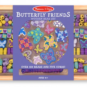 4179-WoodenBeads-Butterfly
