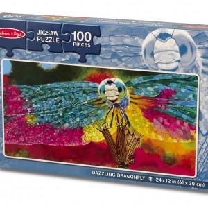 3142-CardboardPuzzle-100pcs-DazzlingDragonfly-Pkg