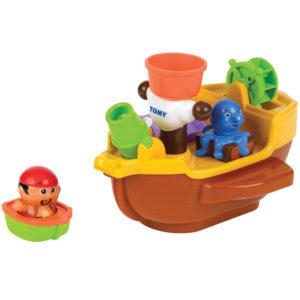 PIRATE PETE S BATH SHIP