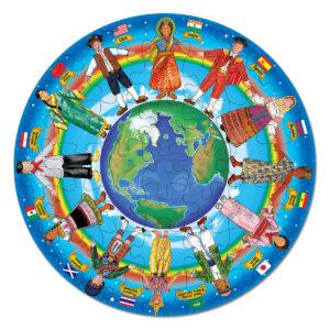 2866-48pcFloorPuzzle-ChildrenAroundtheWorld