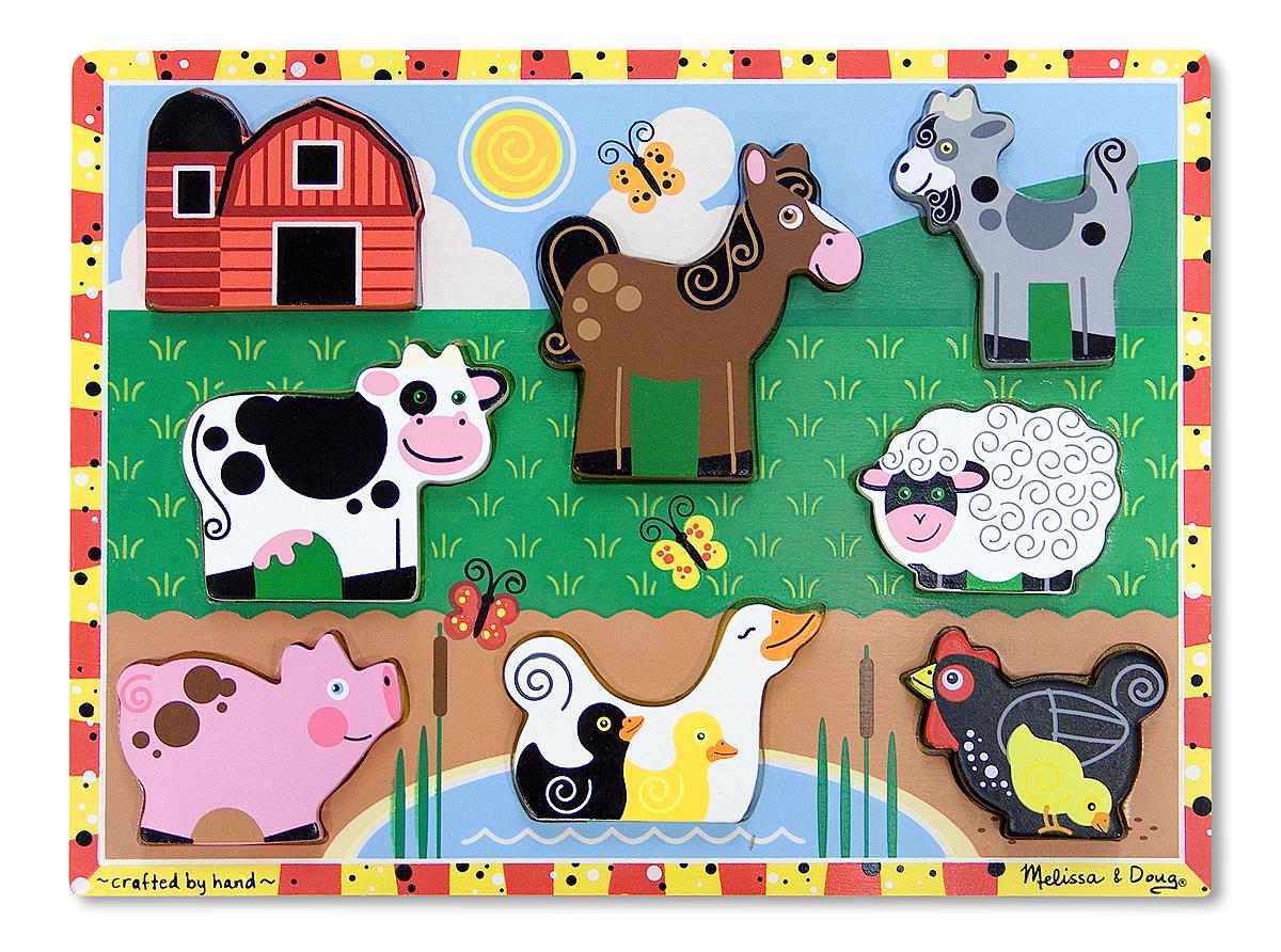 Farm Animals Chunky Puzzle | Down On The Farm