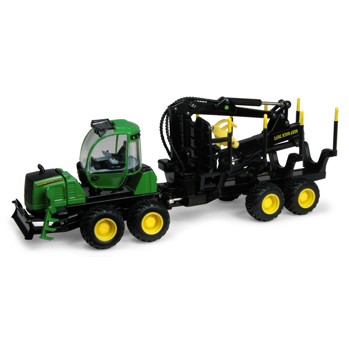 Wooden Toy Log Skidder : John deere e forwarder down on the farm