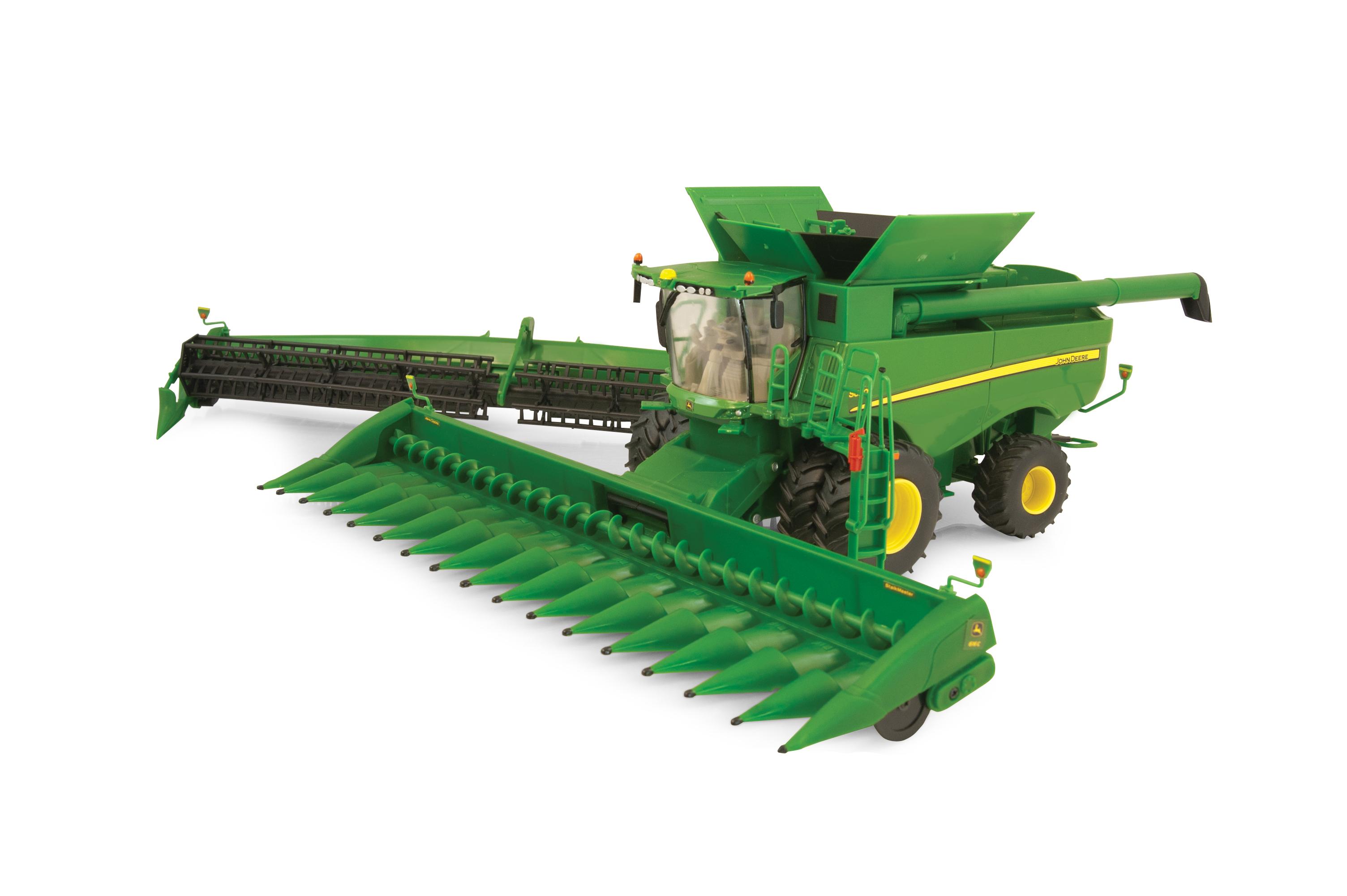 John Deere Combine >> John Deere S690 Combine Down On The Farm